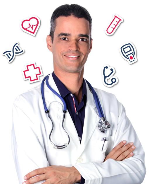 Diabetes controlada do Dr. Rocha!
