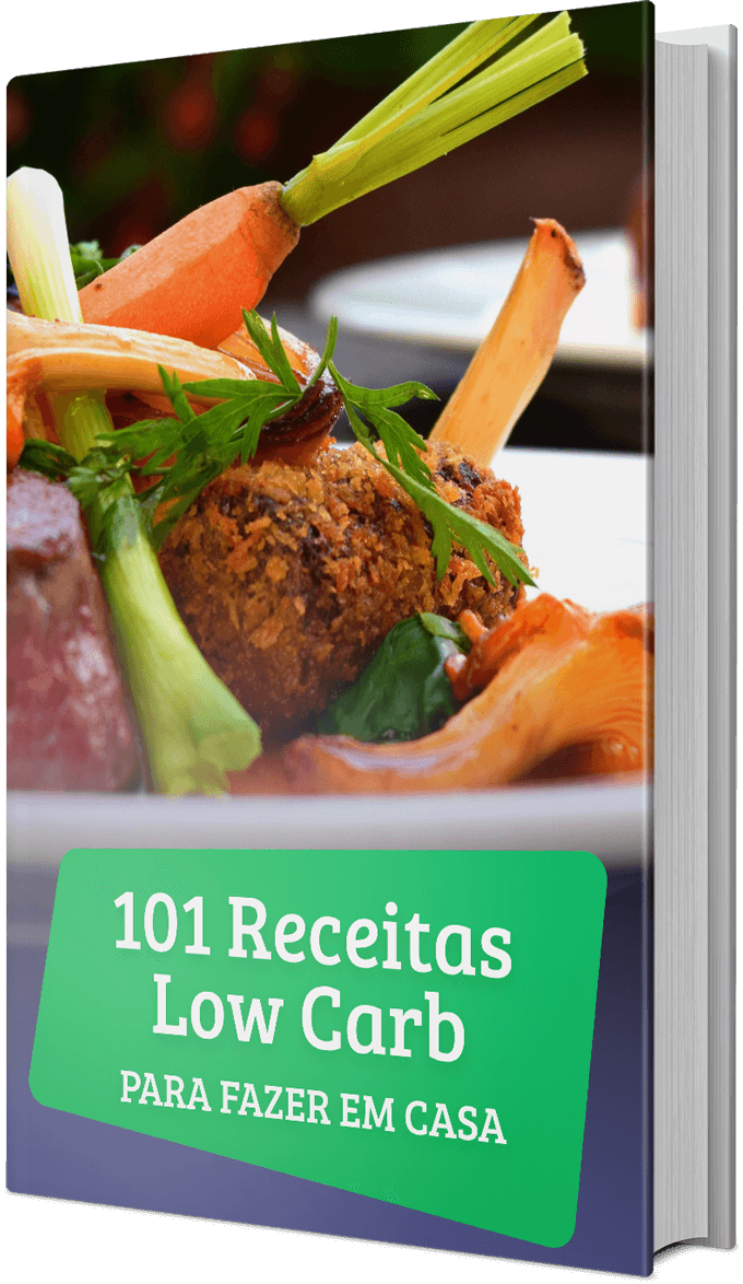capa do 101 Receitas Low Carb